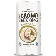 Ceres Organics Rice Cakes (No Added Salt) 110g