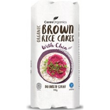 Ceres Organics Rice Cakes with Chia 110g