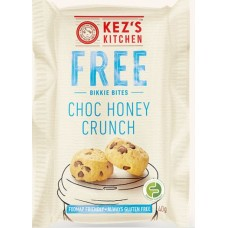 Kez's Choc Honey Crunch Bikkie Bites 40g