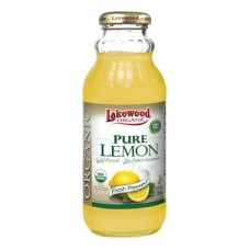 Lakewood Pure Lemon Juice Organic 370ml