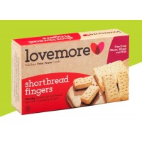 Lovemore Shortbread Fingers 125g(Christmas Shortbread Dairy Free)