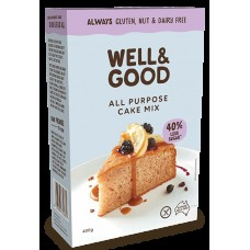 Well & Good All Purpose Cake Mix (Reduced Sugar) 400g