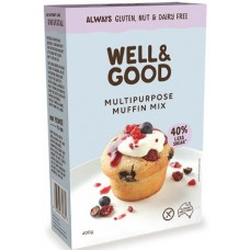 Well and Good Muffin Mix (Reduced Sugar) 400g