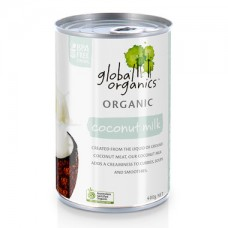 Global Organics  Coconut Milk Organic (Canned) 400g